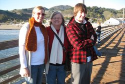 Amy, mom & jen