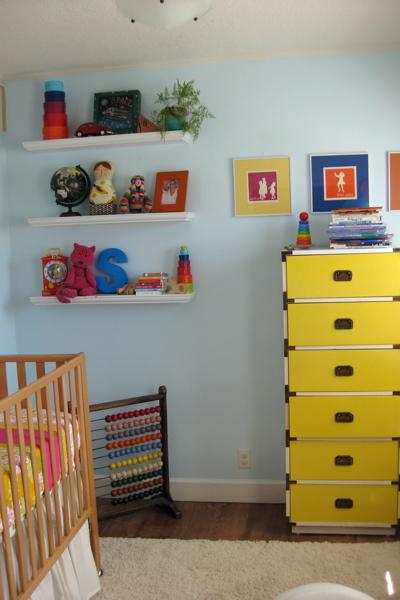 Shelves & dresser